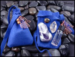 Totem Medicine Pouches by andromeda