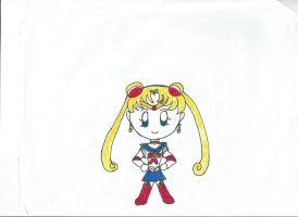 Chibi Sailor Moon by Bjnix248