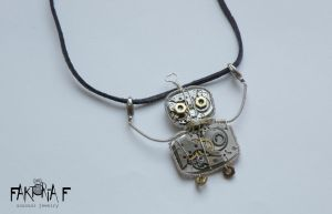 Robot with an Aerial pendant by faktoria-f