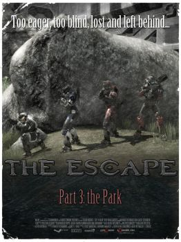 HALO L4D Poster 3 - The Escape by DharionDrahl