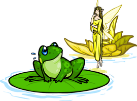 The Queen and the Frog by resizer