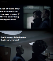 He knows that you love him - Mycroft and Sherlock by FreakyFangirl97