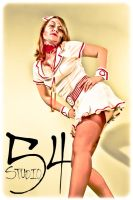 Kandace Zombie Nurse by LaurenWiles