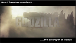 Destroyer of Worlds: Godzilla 2014 by PaintFan08
