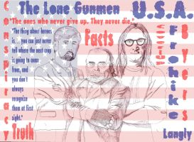The Lone Gunmen (Updated) by iamtherealbender