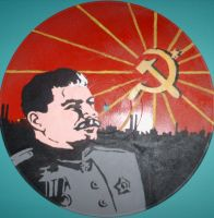 Stalin Vinyl by EdwardAbbieyHoffman
