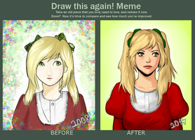 Draw this again! Meme by pentene