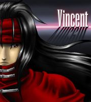 Vincent Valentine by Sh3lly