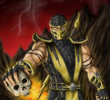 Scorpion by papuman