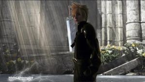 Cloud Strife Cosplay by WhiteLightning008