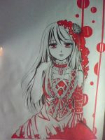 red maid by ptngan1311