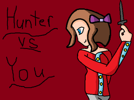 Hunter vs YOU by espeon10
