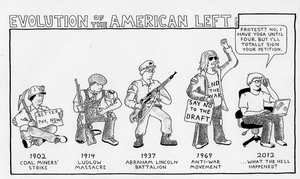 Evolution of the American Left by RednBlackSalamander