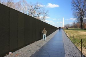 Vietnam Memorial, Wash. Mon by Sp3nc3r-H1nds