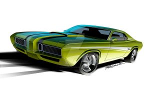 1970 Mercury Cougar El Gato co by cadillacstyle