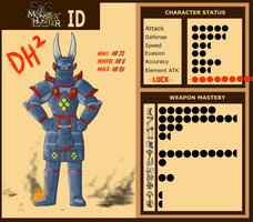 DinoHntr MH ID by DinoHunter2
