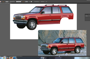 1994 Ford Explorer WIP by BluTwistar
