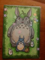 Totoro [A6 marker] by Blue-Fayt