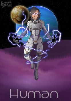 Human [Mass Effect: Andromeda] by Chilled-Space