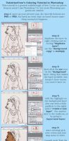 COLORING TUTORIAL BEGINNING by anthro-tuts