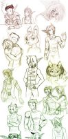 Sketchdump of HUGE by nashidesei