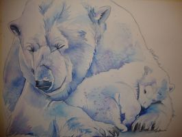 Polar Bears by xXxParabolaxXx