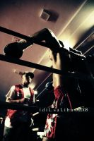 a boxing match in new york2 by idilsalihakuntuz