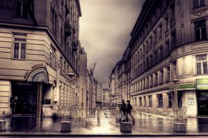 Winter in Vienna XXV by Michela-Riva