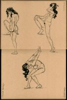 Figure Drawing- Female Nuddies by Cre8tivemarks