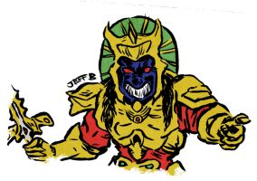 Goldar by ultimancomic