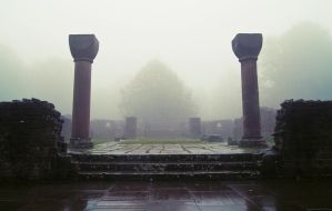 foggy ruins 1 by donnosch