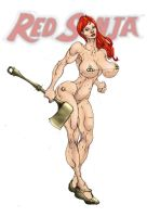 Red Sonja 4 by Selkirk (COLORS) by carol-colors