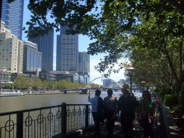 Melbourne City by Morethantoday
