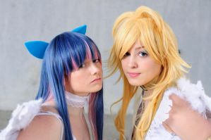 Panty and Stocking- Angels by Giuzzys