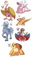 Pokemon Splices by Oniwanbashu
