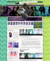 Nina Dobrev WordPress Theme by R21Art