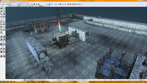 WIP UDK Map Overview Part 2 by Joetruck
