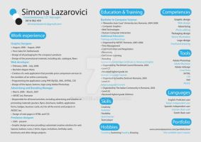 CV Resume by symonel