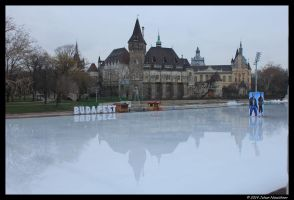 City ice rink by jochniew
