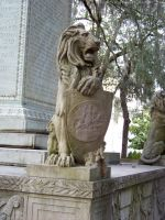 Lion Statue : 02 by taeliac-stock
