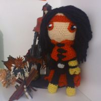 Vincent Valentine Doll by kulukala