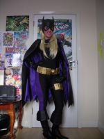 Stephanie Brown Batgirl - Mach II WIP by Bambi--Valentine