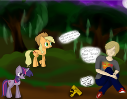 TELEPORTING NAKED PONIES! by Jezzia