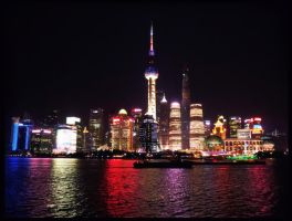 Shanghai Night by demeters