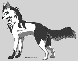 Fox-Wolf Adoptable 1 closed by Celinethecrazyanimal
