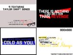 Taylor Swift Songs (Texture Pack) by ThePrettyGirls