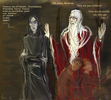 Dumbledore's very useful gifts by Vizen