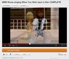 MMD Roxas Singing When You Wish Upon A Star by barbypornea