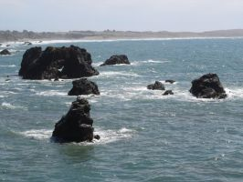 Beach: Offshore Rocks4 by sc4mp1