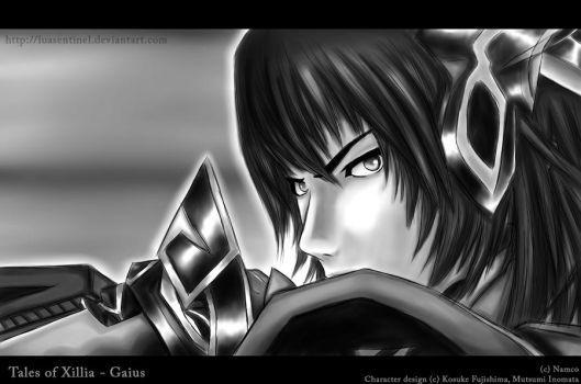 Tales of Xillia - Gaius by LuaSentinel